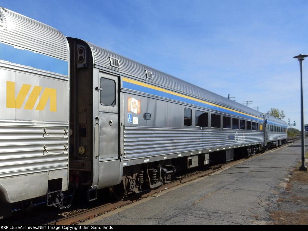 VIA 4121 on trn 63 at Dorval