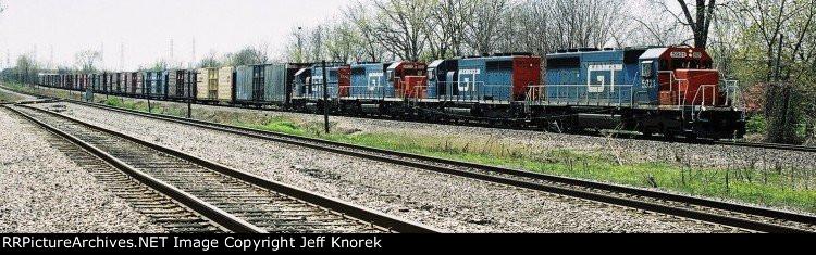 CN train 455 (Flat Rock-Battle Creek)