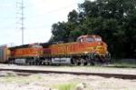 BNSF 4752 & 7663
