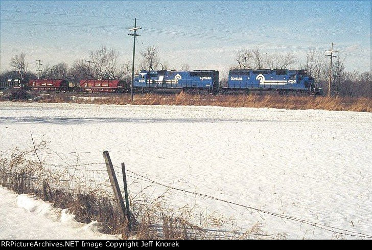 Conrail train ELDW (Elkhart-Detroit Wayne)