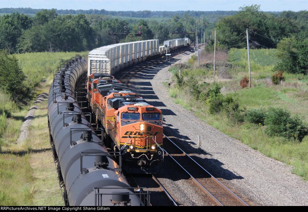 Overpowerd? 4 units work a short EB Z train.