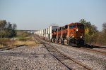 BNSF 6983 Heads into baring Mo..