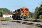 BNSF 6760 Leads 4 Ge's elphant style on the Marceline Sub.