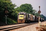 CSX train D750 (Willard-Akron Turn)