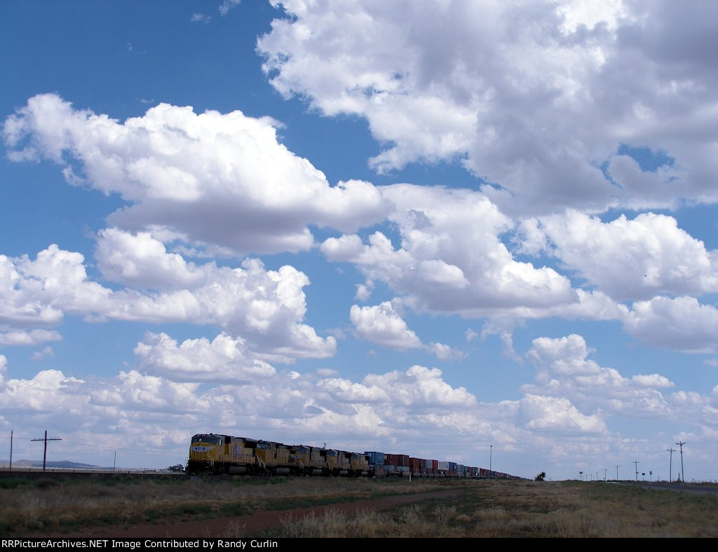 Big Texas Sky; Little Stack Train