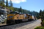 UP 7762 Climbing Towards Donner Pass