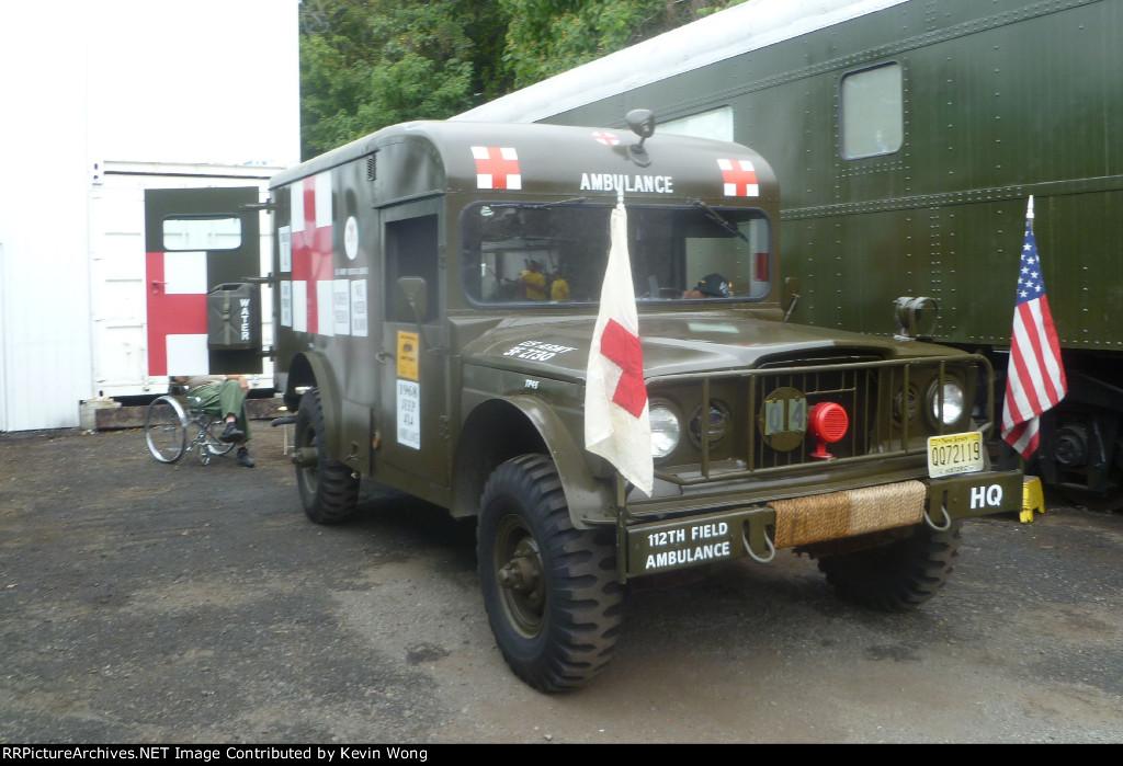 1968 Jeep U.S. Army ambulance