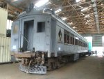 Lackawanna MU trailer club 3454 - built 1912, to be restored to Whippany Railway Museum service in 2016
