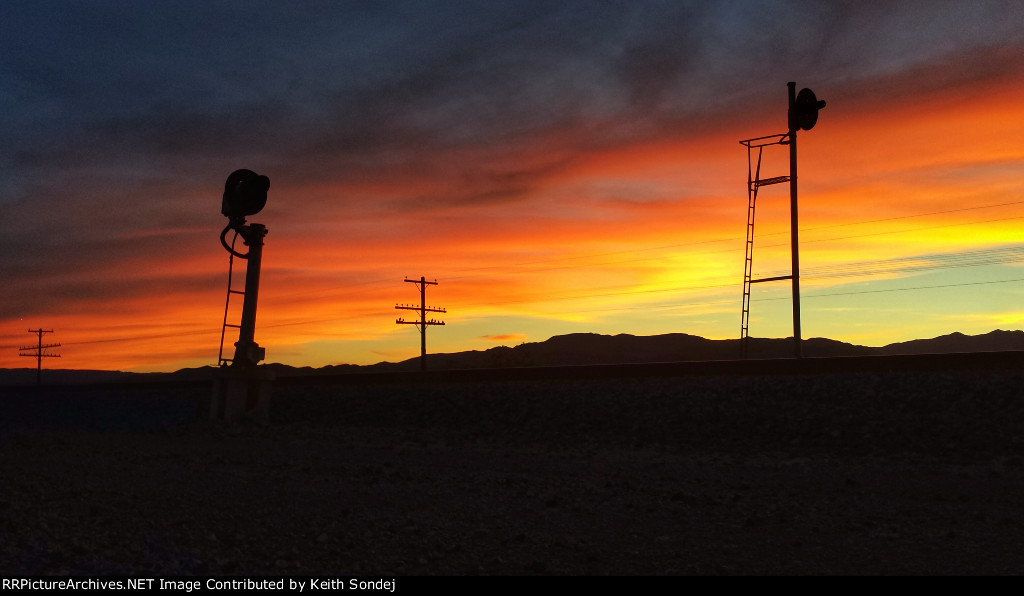 West end signals at Erie, NV