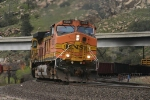 The 58 overpass provides a backdrop for BNSF 4606