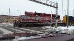 EMD diesels thru downtown Kalamazoo MI.