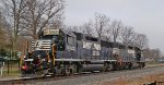 Norfolk Southern locomotives.