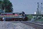 The CSX local crossing the NS