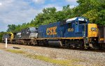 CSX 1536 makes a rare appearance here in Akron.