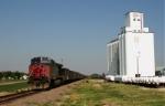 UP 6306 at Hayes, Kansas