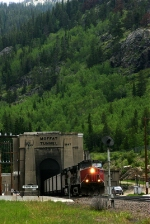 UP 6400 at Moffat Tunnel