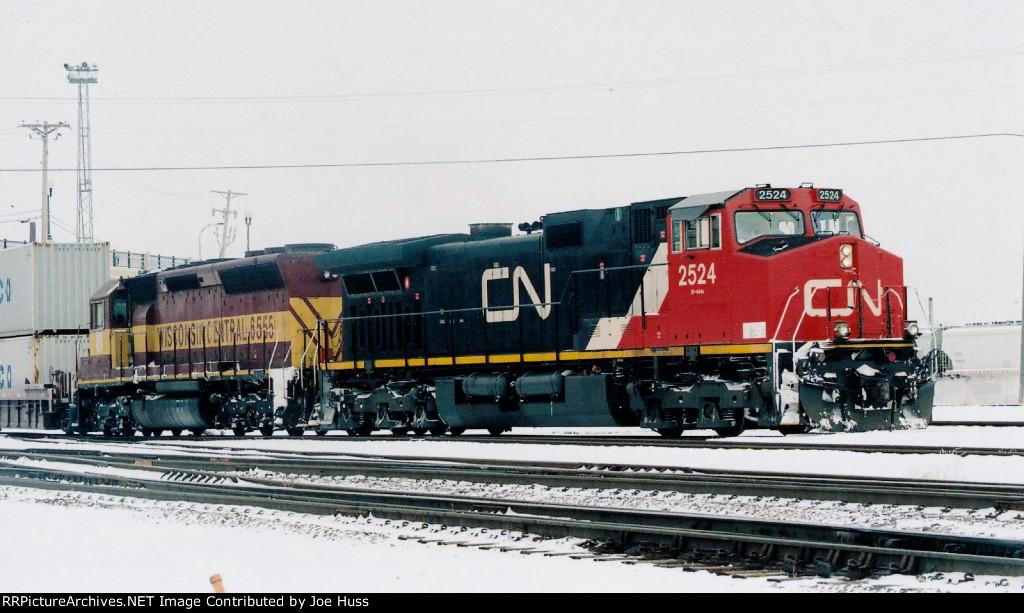 CN 2524 East