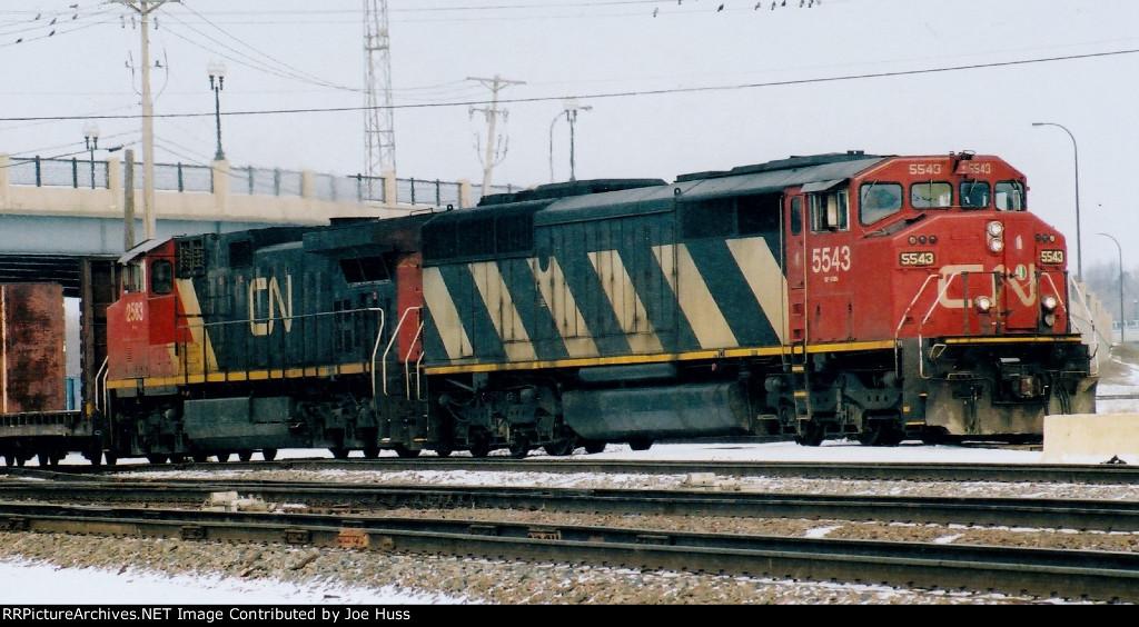 CN 5543 East