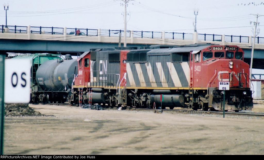CN 5403 East