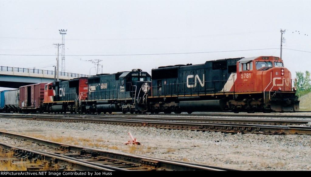 CN 5781 East