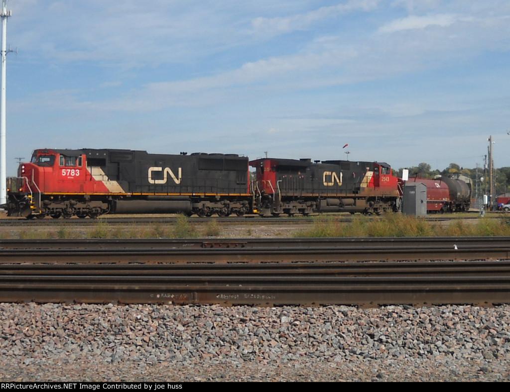 CN 5783 West