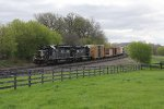 Coming off the Niagara Escarpment, IC 6202 & 6204 hold L510 back with dynamics as they decend Byron Hill