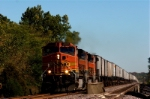 BNSF 4383 west at La Rose, IL