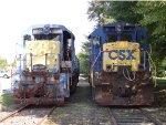 CSX 2402 & 5552