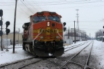 BNSF 4619 251 South crosses the CSX ex CR Bee Line