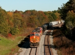 BNSF 5271 at Kimmell,IN on CSX Chicago line