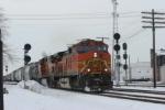 BNSF 4665 Q310 East on CSX ex CR Bee Line