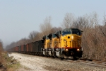 UP 8146 East empty coal