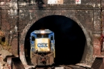 CSX 7544 at Falls Cut Tunnel near Foley, PA