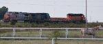 BNSF 945 - CSXT 7322 - BNSF 70 - BNSF 1888