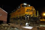 BNSF 5962 Sits under a night of stars..