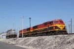 KCS 3915 Sits idel at the ex GWWR yard in East Saint Louis.