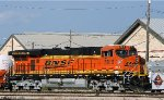 LNG-powered BNSF 5815