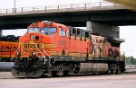 Torched BNSF 5699