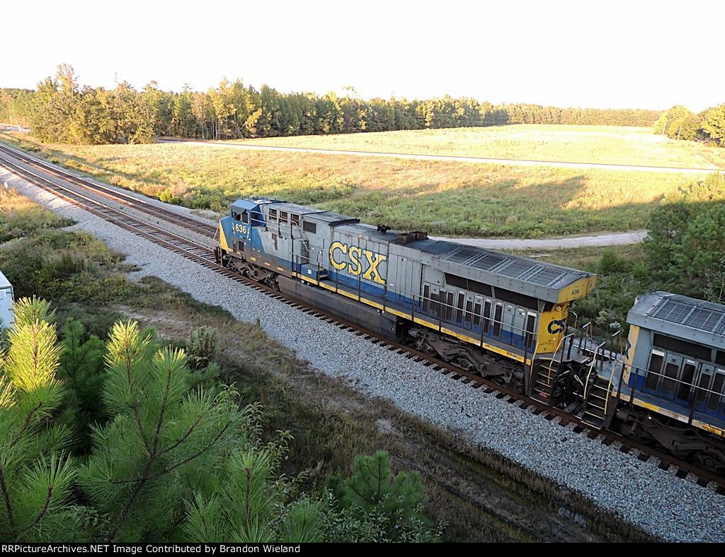 Northbound Hopper Train