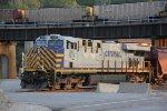 CREX 1215 Work's Dpu on a SB loaded grain train..