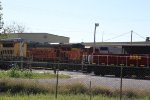BNSF 234 And other's sit around the car shops..