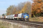 The Woodstock Job prepares to head back West toward Ingersoll on a perfect Fall afternoon