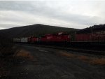 CP RAIL Engines in the fall
