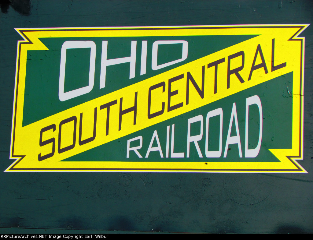 Ohio South Central Railroad logo
