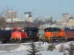 CN 3042 and BNSF 1519