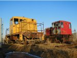 Old Ex-Canada Cement GE Switchers