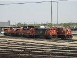 CN & CP Locomotives