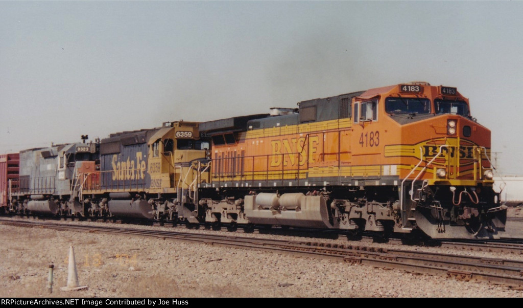BNSF 4183 East
