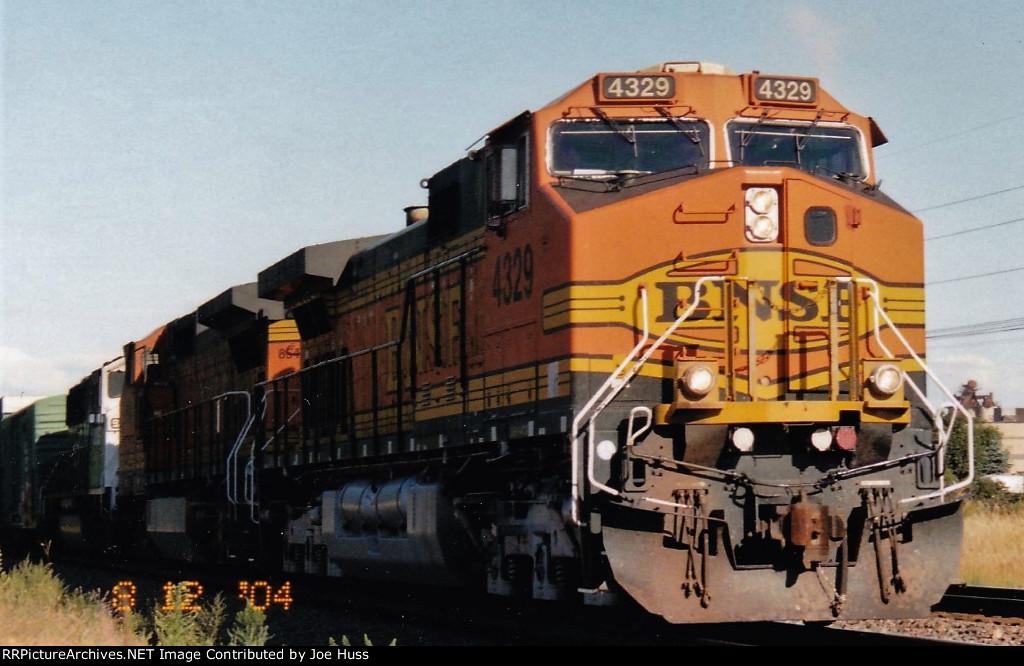 BNSF 4329 East