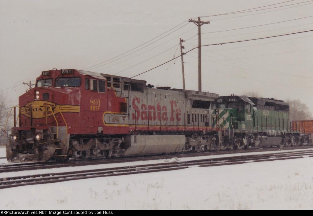 BNSF 891 West